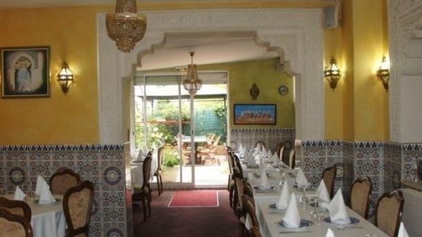 Le Tafoukt Salle du restaurant