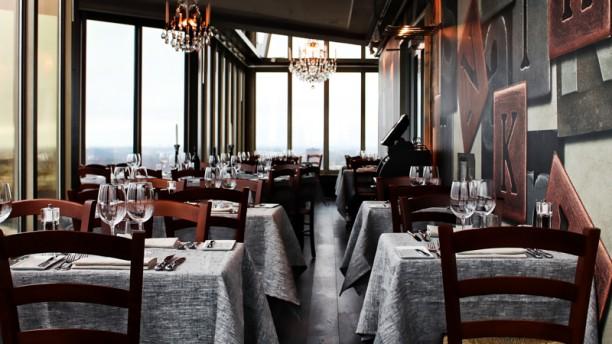 Kaknästornet Restaurangens rum