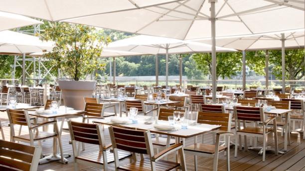 Brasserie L'Ouest Terrasse avec vue sur jardin