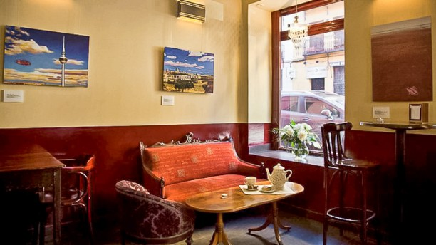 Café Cósmico Vista sala