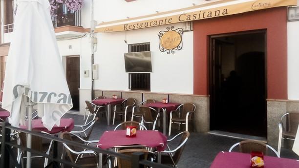 Casitana Terraza y entrada