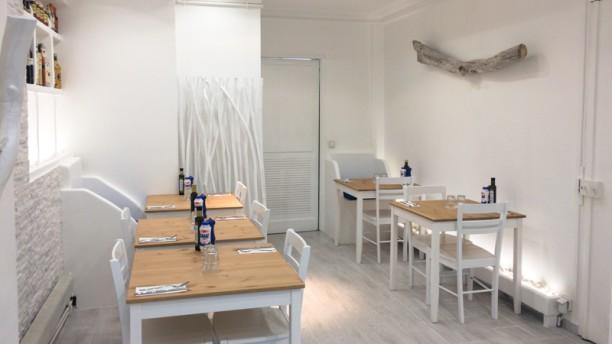 La Maison des Cyclades - Levallois Salle du restaurant