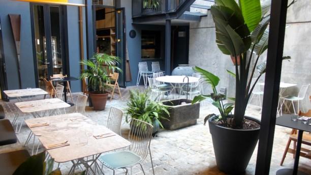 Trópico - Hotel Brummell Patio interior