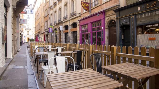 Vue de la terrasse - Karbone, Lyon