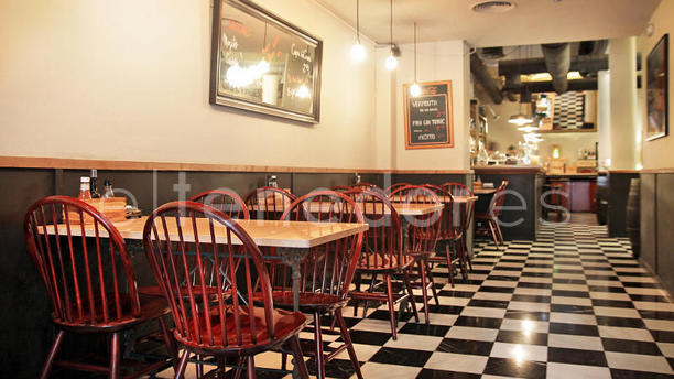 Café Pagés vista interior