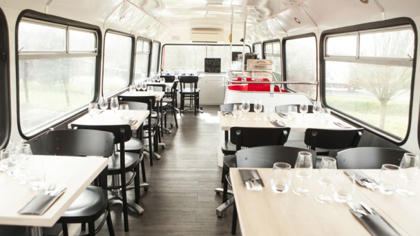 Restaurant le bus rouge cergy 95000 menu avis prix for Restaurant ricordeau