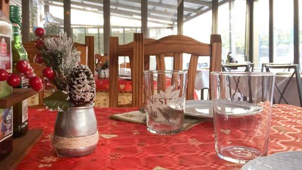 La Gaviota Vista de la mesa