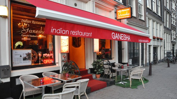 Ganesha Indian Restaurant Ingang