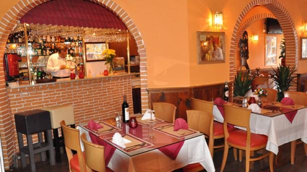 Ganesha Indian Restaurant Restaurantzaal