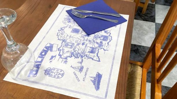 Vertical Four Clover Detalle de la mesa