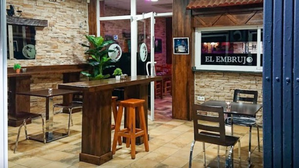Restaurante Vegano El Embrujo (Benidorm) Vista sala