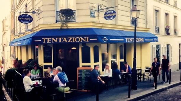 Tentazioni Rue Lepic Devanture