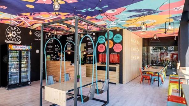 Flower Burger Vista sala