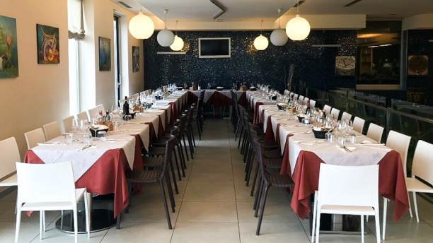 Cafè Groove Restaurant Vista sala