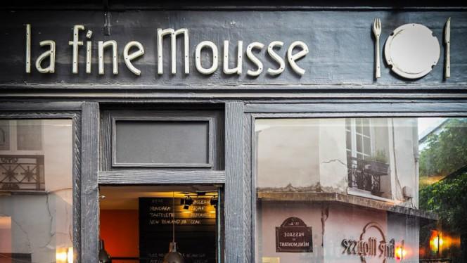 La Fine Mousse - Restaurant - Paris