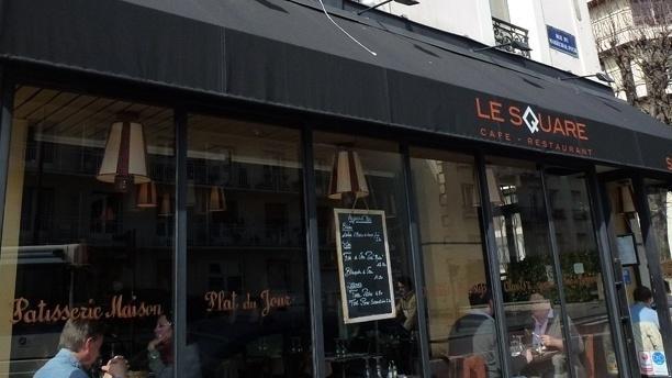 Brasserie le Square Façade du restaurant