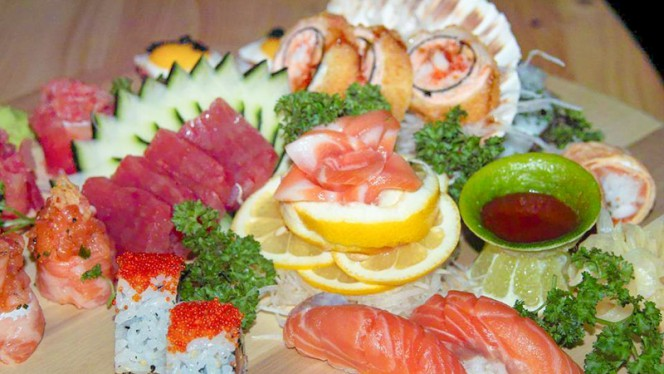 sugestão prato - Sushi Lapa, Braga