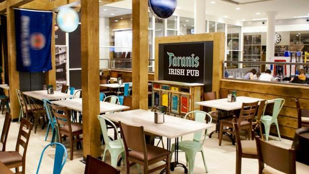 Irish Pub Taranis Vista del interior