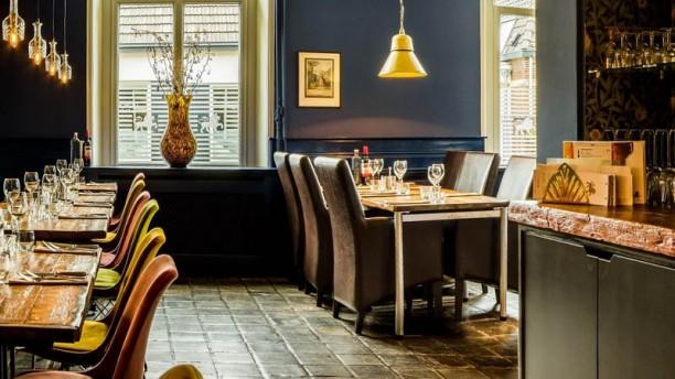 Gouden leeuw restaurant & café Het restaurant