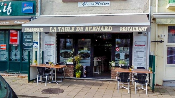 La Table de Bernard devanture