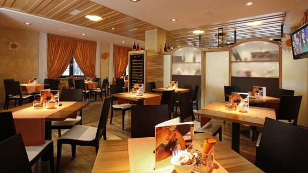 Mota Food & Wine Vista della sala