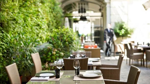 Le M64 - Hôtel Intercontinental Paris Vue sur notre patio
