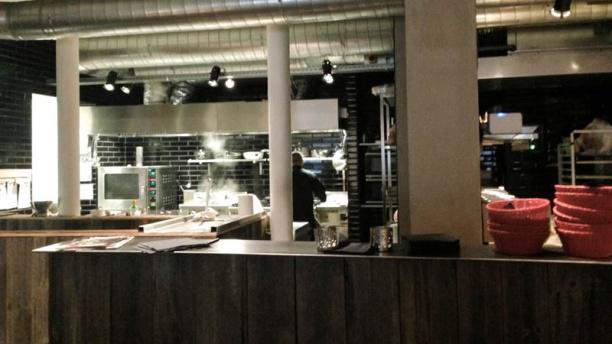Restaurant prego bourse bruxelles avis menu et prix for Cuisine ouverte restaurant