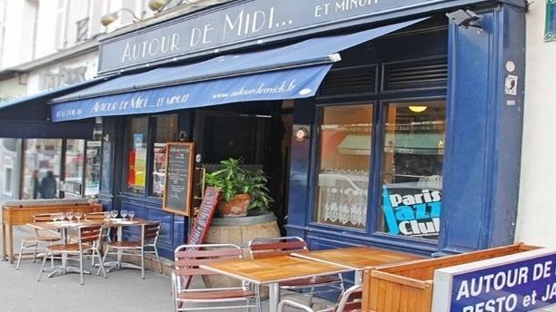 Autour de Midi... et Minuit Façade du restaurant