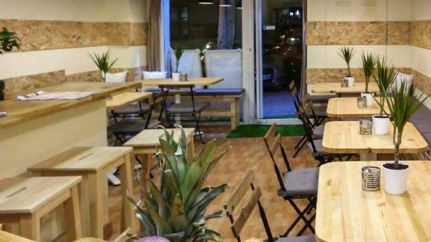 Campesino Burger Sala del restaurante