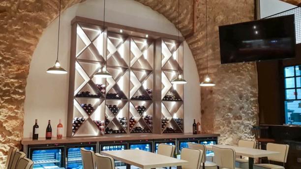 Hapetite Restaurante Bar Vista do interior