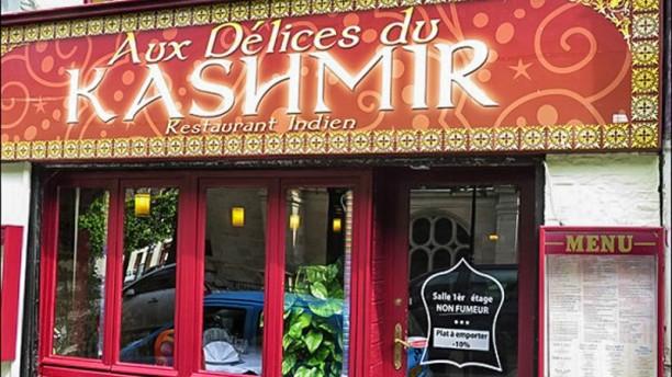 Aux Délices du Kashmir devanture