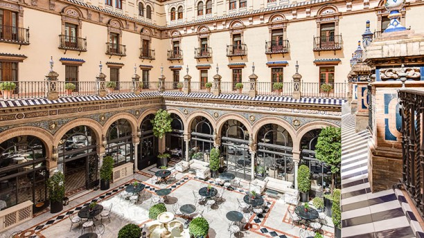 San fernando hotel alfonso xiii in sevilla restaurant - Hotel alfonso xii sevilla ...