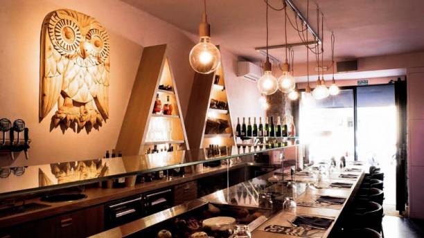 Brasserie La Chouette La sala