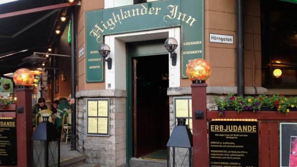 Highlander Inn Ingång