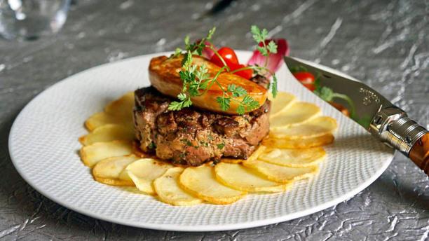 Hôtel Restaurant A la Grâce de Dieu Burger de Canard et de Foie Gras