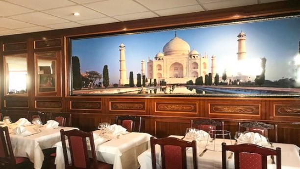 Taj Mahal Vue de la salle