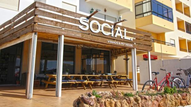 Social. Esplanada