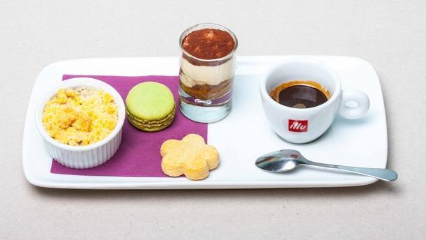 Restaurante alain 39 probable en cr teil men opiniones - Assiette rectangulaire pour cafe gourmand ...