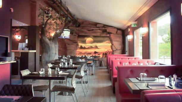 Arcadia Restaurant Lounge Bar Veduta dell interno