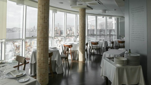 Restaurante Belvedere Benidorm Vista de la sala