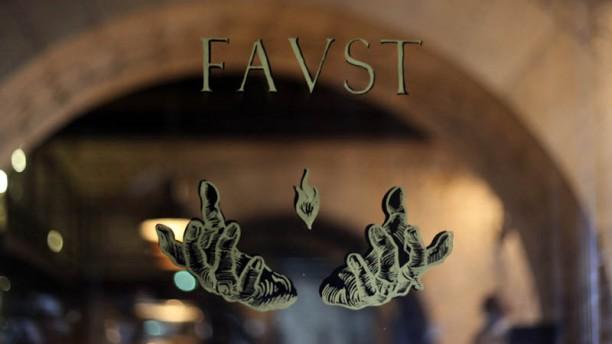 Le Faust Détail déco porte