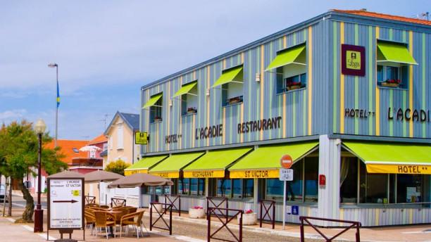 Brasserie Plage Acadie Façade