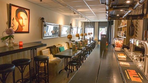 1723 Voorburg Het restaurant