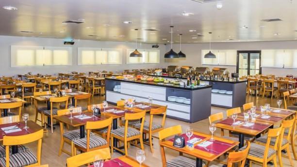 Rick's Restaurante & Bar Vista da sala