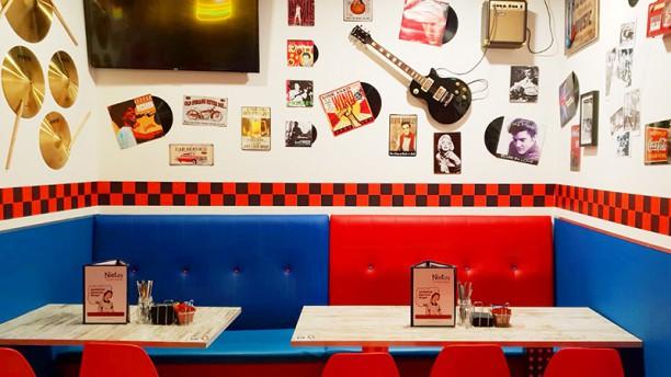 Nieto´s American Burger Vista sala