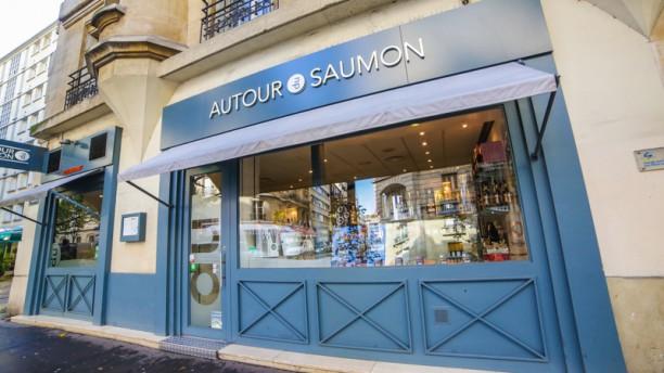 Autour du Saumon Convention Façade du restaurant