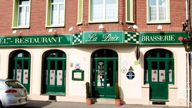 Restaurant de la Paix Vue devanture