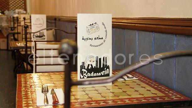 Badaweia Detalle mesa