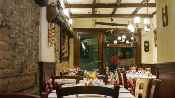 Cantinetta Allegri Sala del ristorante