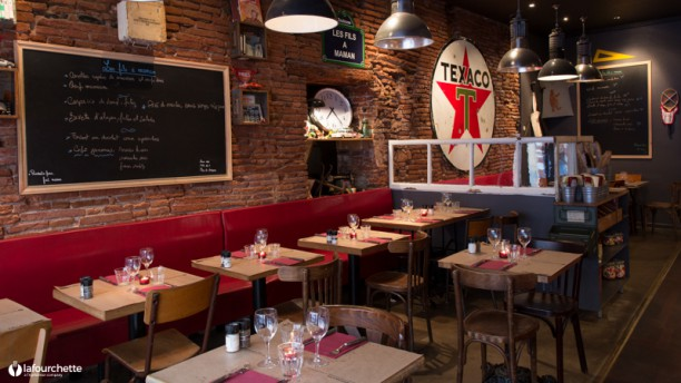 Les fils maman toulouse restaurant 1 rue pharaon 31000 toulouse adresse horaire - Cuisine easy toulouse ...